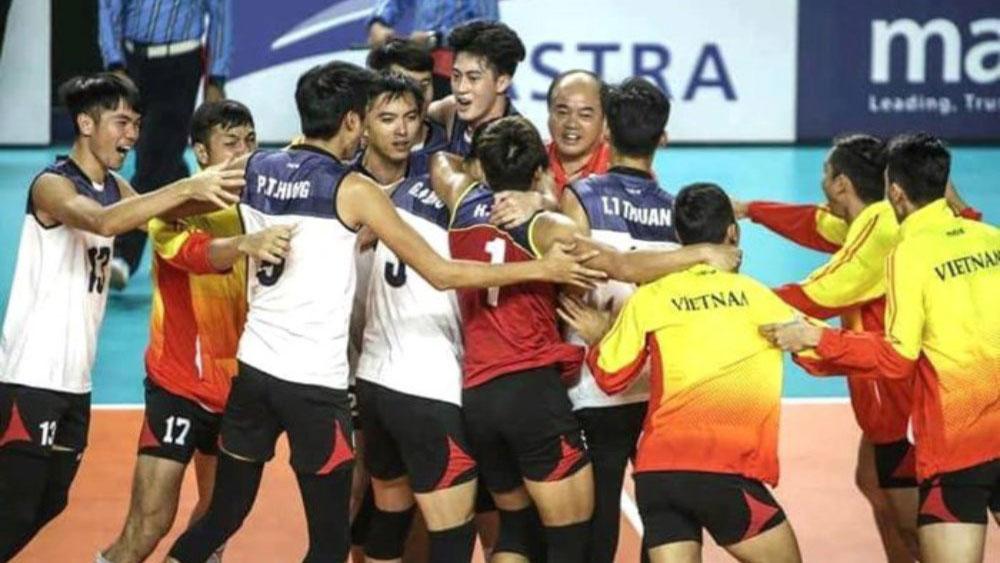 Bóng chuyền Việt Nam đánh bại Trung Quốc từng 3 lần vô địch ASIAD